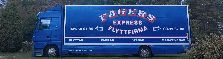 Om Oss Fagers Express AB - Flyttfirma Göteborg, Kungälv, Kungsbacka, Lerum och Mölndal